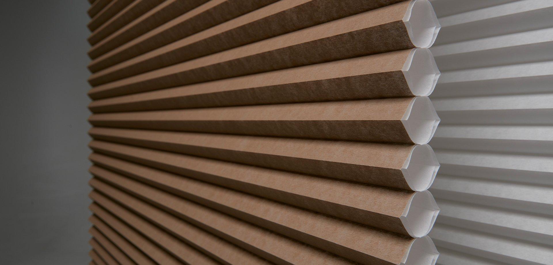 Whisper Architella Shades image showcasing honeycomb structure and insulating air pockets