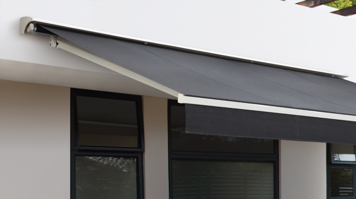 An optional Rain Hood provides improved protection for your awning from the elements
